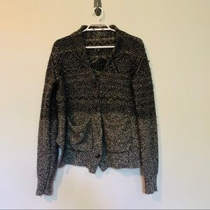 Roots Knitted Button Close Cardigan